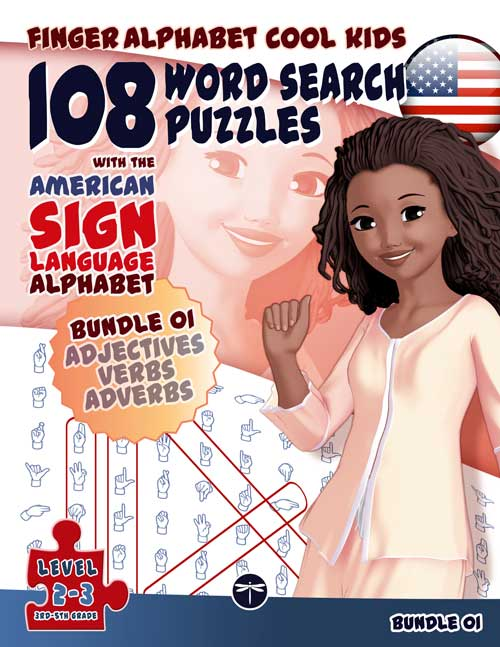 108 Word Search Puzzles with The American Sign Language Alphabet: OMNIBUS EDITION