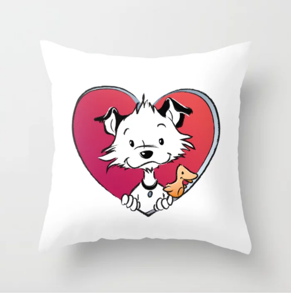 Little Hunterman Love Pillow