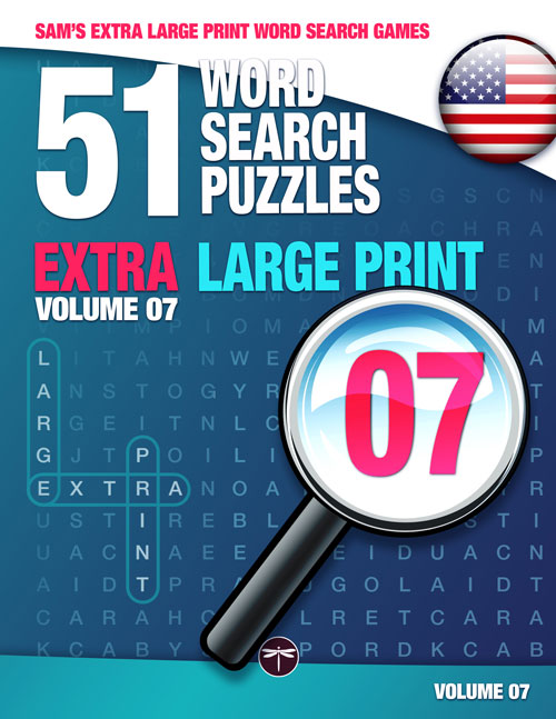 Sam's Extra Large Print Word Search Book Book 07