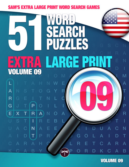 Sam's Extra Large Print Word Search Book Book 09
